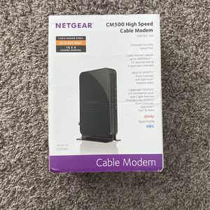 Netgear High Speed Cable Modem for Sale in Sacaton, AZ