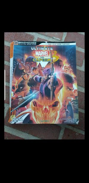Ultimate Marvel vs Capcom 3 stragety guide for Sale in Baldwin Park, CA