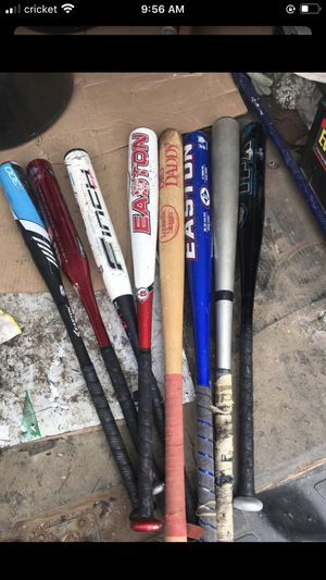 Easton baseball bats for Sale in St. Louis, MO