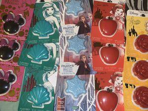 disney princess lip balms for Sale in Rancho Cucamonga, CA