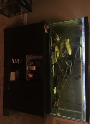 55 gallon fish tank and stand for Sale in Norman, OK