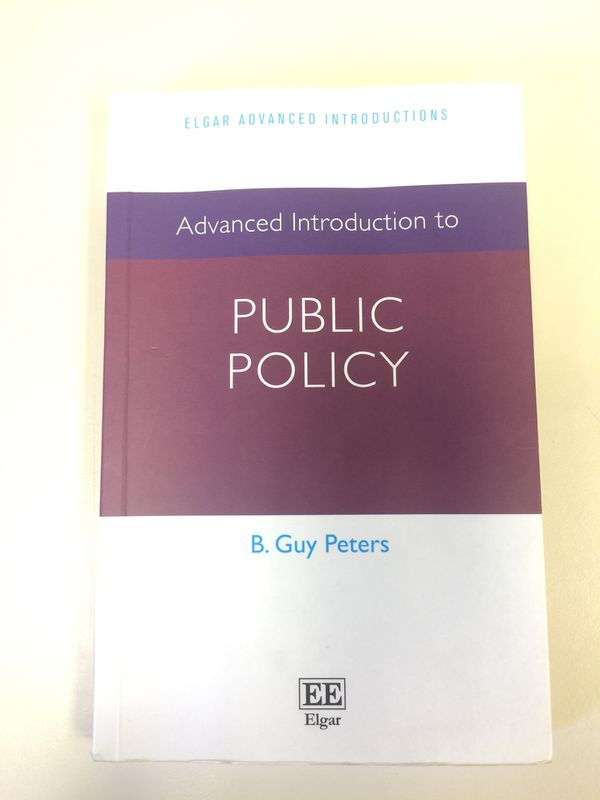 Advance introduction to public policy