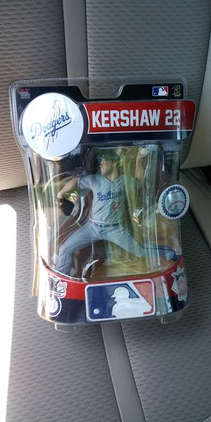 Los Angeles Dodgers Clayton Kershaw Toy Figure for Sale in Corona, CA