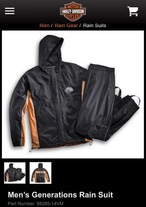 Harley Davidson Men's Generations Rain Suit (Medium) for Sale in Trout Valley, IL