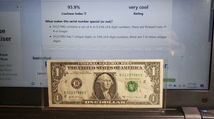 2017 $1 Fancy / Rare - New York Mint Bank Note for Sale in Coolidge, AZ