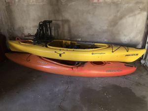2 kayaks for sale for Sale in Denver, CO