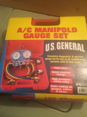 AC Manifold gauge set for R134 New unused for Sale for sale  Jersey City, NJ