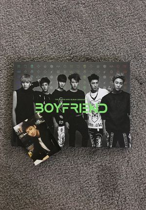 KPOP Boyfriend - Obsession Album with Jo Twins Photocard for Sale in Goode, VA
