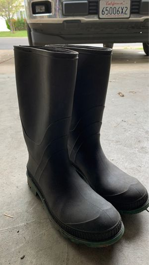 Rubber boots (size 10) for Sale in Stockton, CA