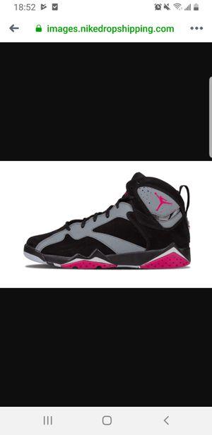 Womens Shoes Nike Air Jordan 7 Retro Sport Fuchsia for Sale in West Seneca, NY