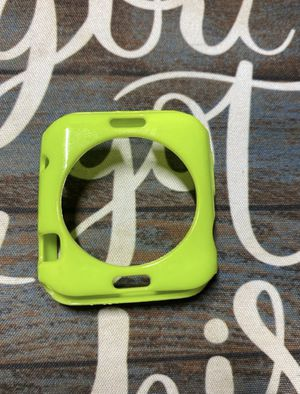 Apple watch series 3 green screen case for Sale in Valley Center, CA