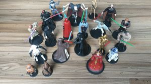 Disney Star Wars figurines/cake toppers for Sale in Brandon, FL