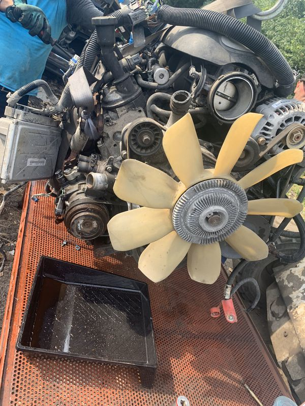 Complete ls swap 2002 6.0 Chevy and 2wd 4l80 transmission
