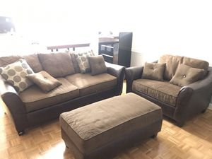Couch set (set or individual) for Sale in Arlington, VA