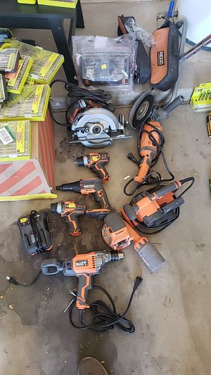 Ridgid tools for sale for Sale in Glendale, AZ