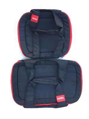 Pyrex Portable Black and Red Insulated Carrying Tote with Handles Lot of 2 for Sale in Rancho Cucamonga, CA