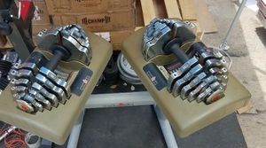 2.5lbs - 55lbs ironman adjustable dumbbells with stand for Sale in Montebello, CA