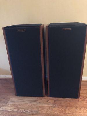 Rare vintage Klipsch Tangent 40 speakers for Sale in Woodbridge, VA