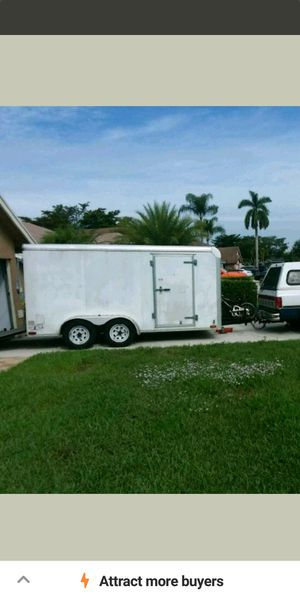 16 foot trailer perfect condition 3000 for Sale in Boca Raton, FL