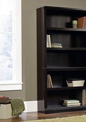 New!! 5 shelf bookcase, bookcase, bookshelves, organizer, storage unit, living room furniture, entrance furniture, shelving display , black for Sale in Phoenix, AZ