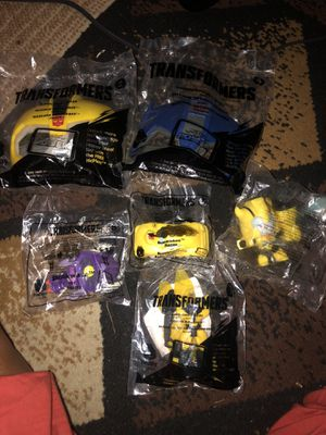 Mcdonald toy Transformer bundle for Sale in Dearborn Heights, MI