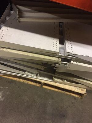 Industrial metal shelving racks for Sale in San Leandro, CA
