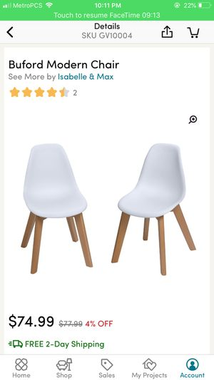 Kid modern chairs for Sale in Boston, MA