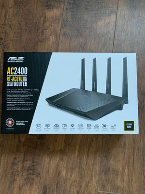 Asus RT-AC87U Dual Band Gaming Wireless Gigabit Router for Sale in Danville, CA