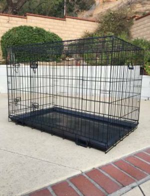 Dog crate wire folding size 48 XL new in box 📦 for Sale in Chino Hills, CA