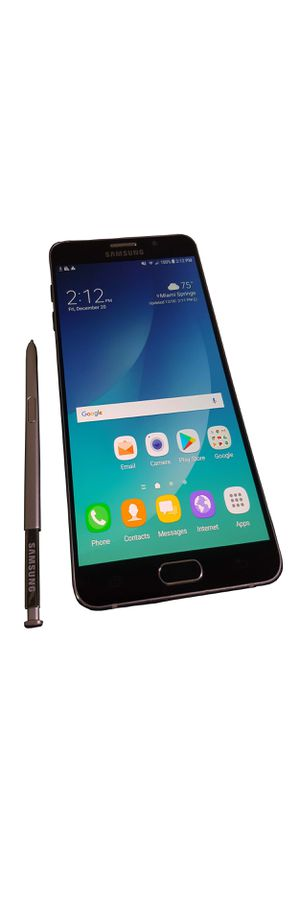 New w/Box 64GB Samsung Galaxy Note 5 unlocked all gsm carriers world wide att t mobile metro pcs boost for Sale in Miami, FL