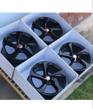 "19"" jaguar F-Pace black wheels rims set Factory OEM original F Pace 19 for Sale in Long Beach, CA"