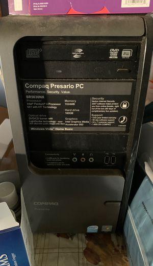 Desktop computer and screen for Sale in San Bernardino, CA