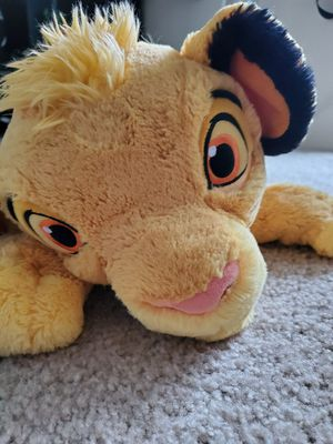 Disney the lion king simba stuffed animal for Sale in Kirkland, WA