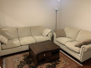 Two-piece Ashley furniture couch for Sale in Anaheim, CA