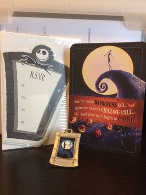 Nightmare Before Christmas keychain cards invitations for Sale in Phoenix, AZ