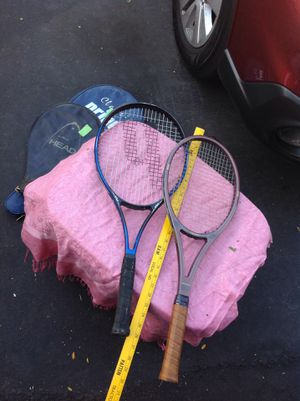 Tennis rackets for Sale in Morris, IL