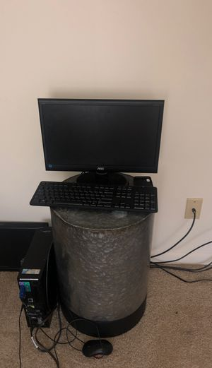 Dell Desk top Monitor Computer ( Pick Up Only ) for Sale in Glen Burnie, MD