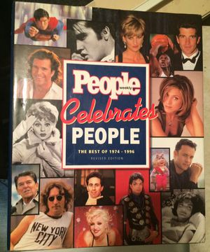People Celebrates People The Best Of 1974-1996 Hard Back for Sale in Parkersburg, WV