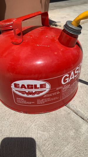 Eagle gasoline can for Sale in Fresno, CA