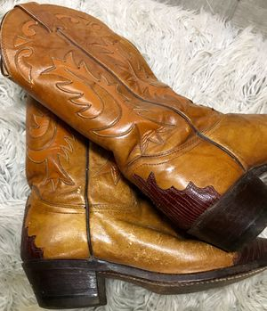 Ladies Justin cowgirl boots size 6 for Sale in Springfield, MO