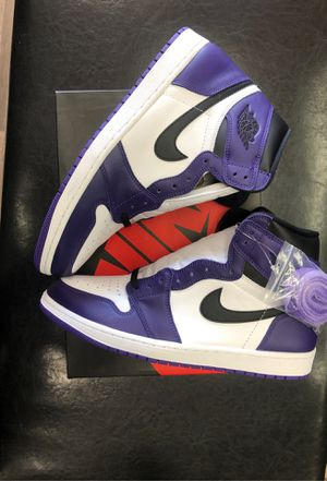 Jordan 1 Court Purple SIZE 13 for Sale in Inglewood, CA