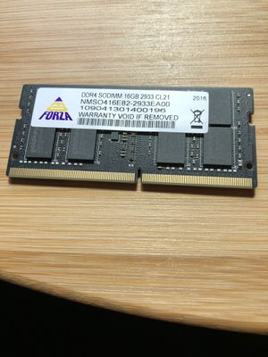 2933 16GB High Speed Laptop DDR4 for Sale in Tallahassee, FL
