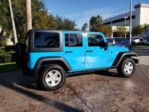 Jeep Wrangler illuminati Sport unlimited 4WD for Sale in Miami, FL