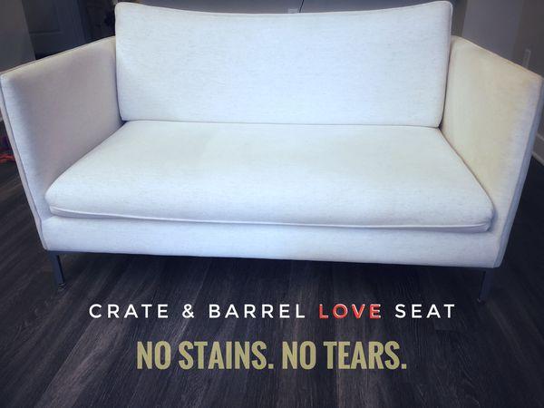 Crate & Barrel Love Seat