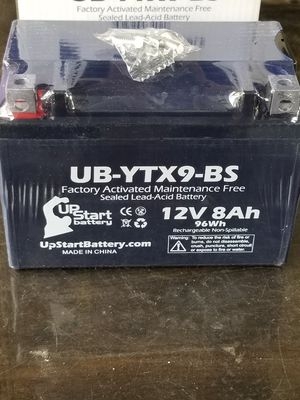 Brand new Motorcycle battery yamaha honda Suzuki kawasaki r6 cbr gsxr zx6r 600 750 600rr r6r for Sale in Altadena, CA