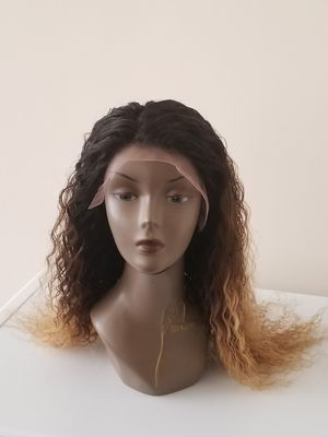 """20"""" Brazilian human hair deepwave + 18 lace frontal for Sale in Temple Hills, MD"""