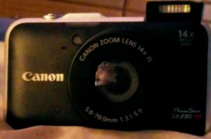 Canon PowerShot SX230 HS digital camera with wall charger for Sale in McKeesport, PA