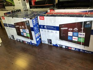 TCL Roku 65 inch 4K smart TV with Warranty for Sale in Vernon, CA
