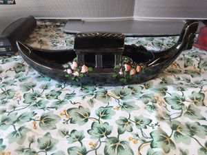 THIS is the REAL Mcy Oriental Ceramic or Glass BOAT For the 1950s for Sale in Arnold, MO