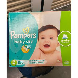 Pampers Size 2 for Sale in Ben Lomond, CA